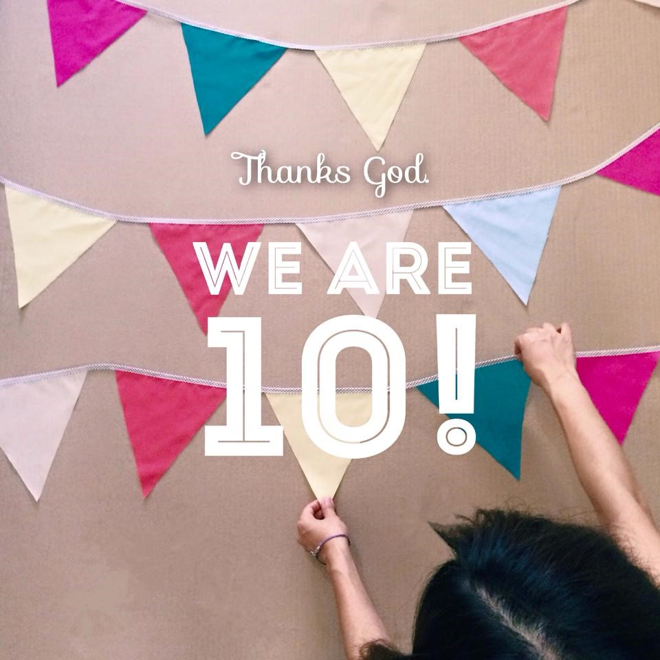 Thanks GOD we are 10!